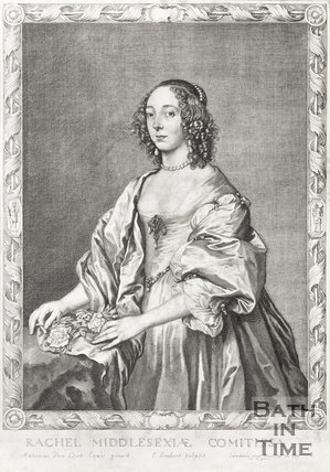 Portrait of Rachel Middlesexiae Comitissa, c.1630
