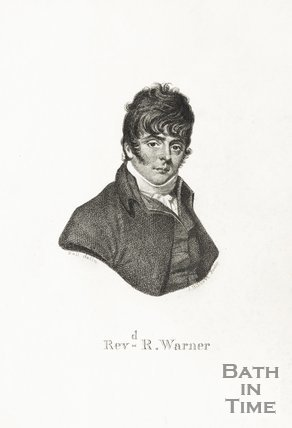 Portrait of Rev. R Warner