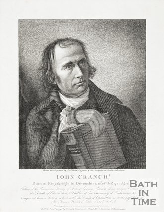 Portrait of John Cranch, Published 20th Oct 1795