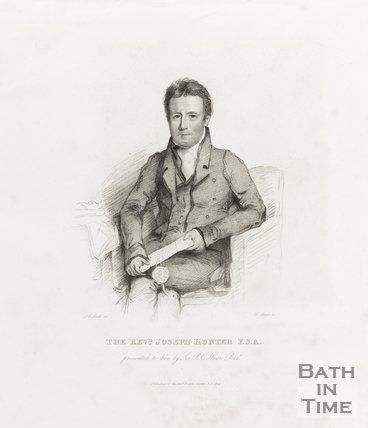 Engraving Reverend Joseph Hunter