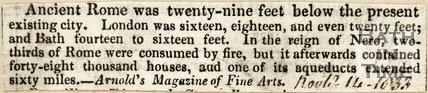General Description of Bath November 16th 1833