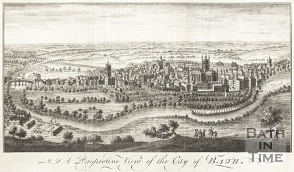 A Prospective View of the City of Bath 1758