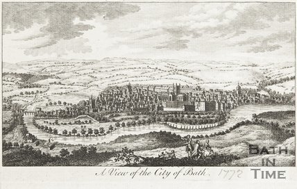 A View of the City of Bath 1772