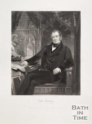 Testimonial Portrait of John Britton 1845
