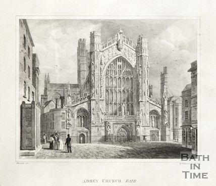 Abbey Church Bath 1816 or 1826