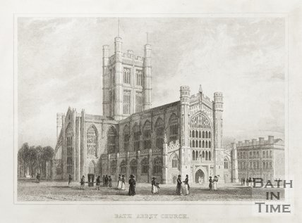 Bath Abbey Church 1830