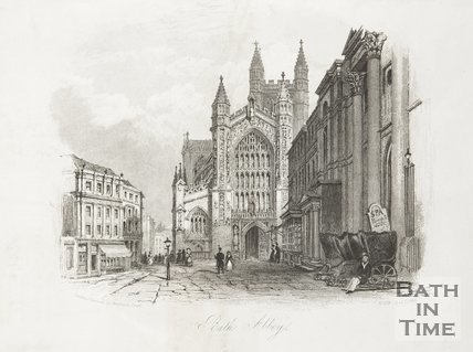 Bath Abbey April 1st 1846