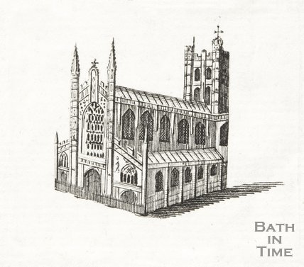 Engraving Bath Abbey