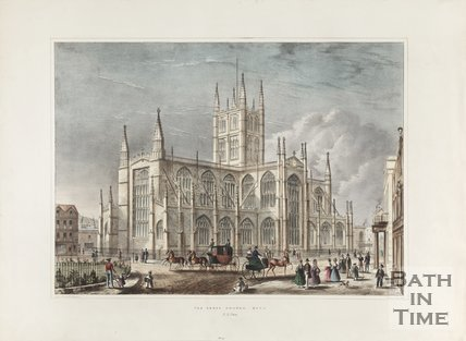 The Abbey Church Bath N.E. View, c.1836