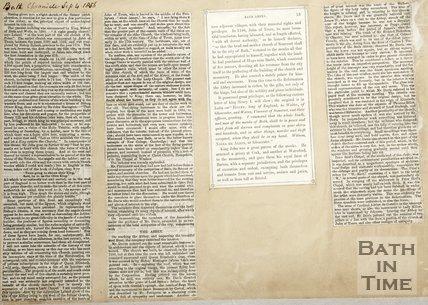 Description of Abbey September 4th 1856