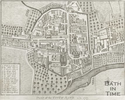 Plan of the City of Bath 1717