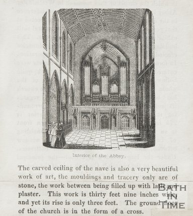 Interior of Abbey, 1845