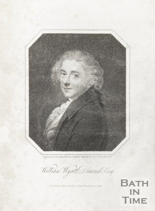 Engraving of William Wyatt Diamond Esq. June 1st 1808