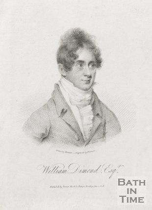 Portrait of William Diamond Esq. January 1st 1808