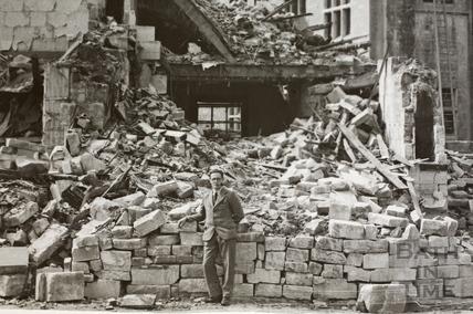 4, Manvers Street, Bath 1942 - detail
