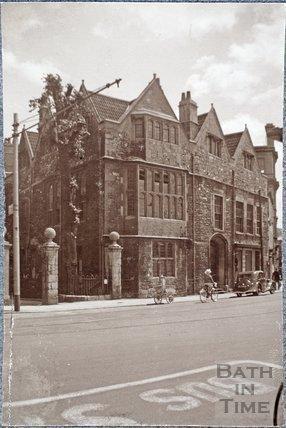 Abbey Church House, 24 & 25, Westgate Buildings, Bath 1939