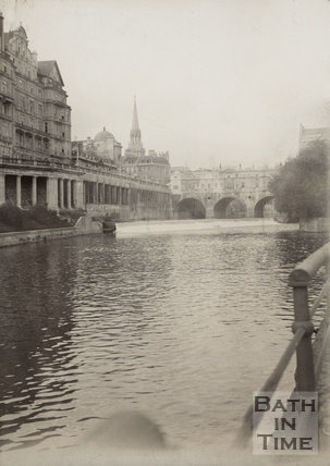 Pulteney Bridge, Bath 1906