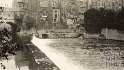 Pulteney Bridge, Bath c.1915
