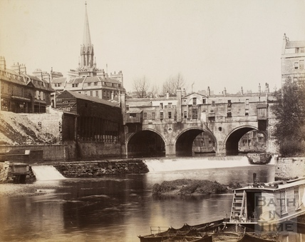 Pulteney Bridge, Bath c.1880
