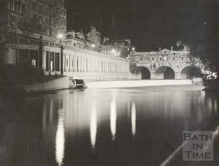 Pulteney Bridge and Grand Parade, Bath