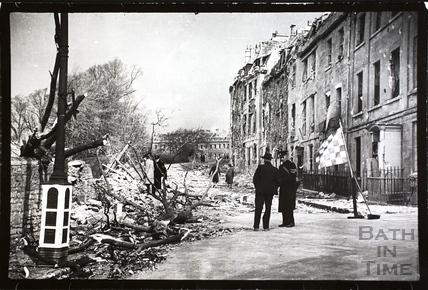 Lansdown Place East, Bath 1942
