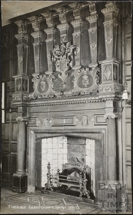 Fireplace, Abbey Church House, 24 & 25, Westgate Buildings, Bath 1927