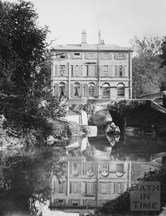 Cleveland House (rear elevation), Bath c.1895