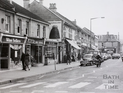 Moorland Road, Oldfield Park, Bath 1975
