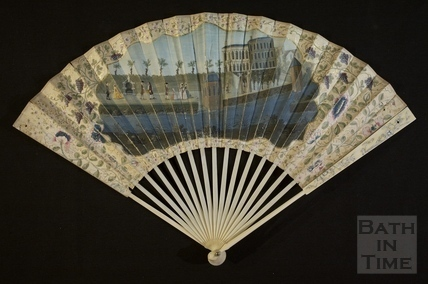 Fan view of Harrison's Walk, Bath c.1749