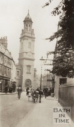 Lower Borough Walls, Bath c.1915