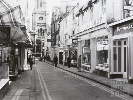 Green Street, Bath 1973