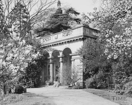 Botanical Gardens, Victoria Park, Bath 1975
