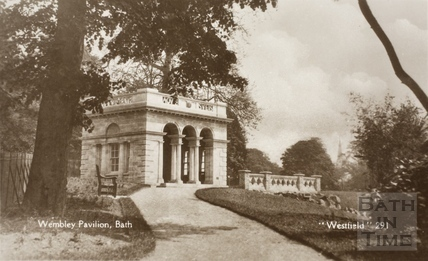 The Wembley Pavilion, Botanical Gardens, Victoria Park, Bath c.1930