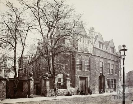 Abbey Church House, 24 & 25, Westgate Buildings, Bath c.1885
