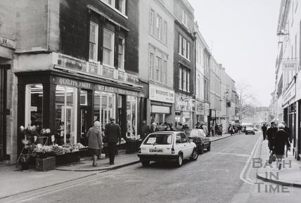 Westgate Street, Bath 1988