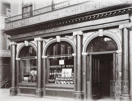 Institution Wine Cellars, 1, Terrace Walk, Bath c.1903