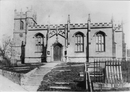 All Saints' Church, Weston, Bath pre-1893