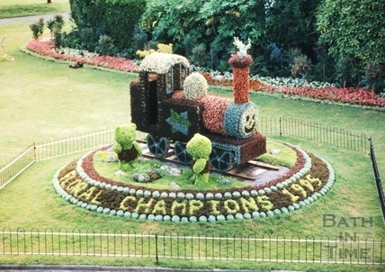 Parade Gardens, Bath 1996