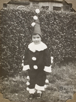 Fancy dress, Charlton Park, Keynsham 1945