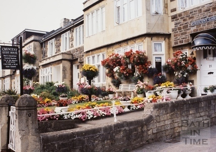 Crescent Guest House, Crescent Gardens, Bath 1994
