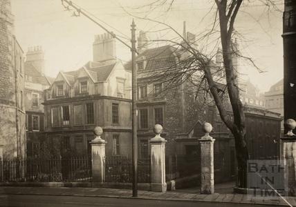 Chapel Court and St. John's Hospital, Bath c.1932