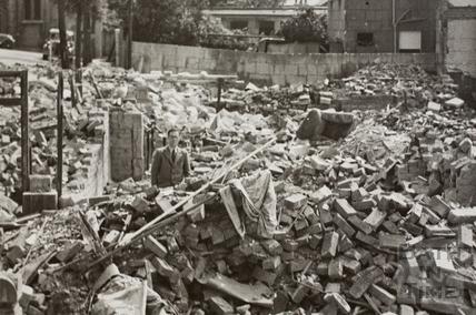 2, Beechen Cliff Road, Bath 1942 - detail