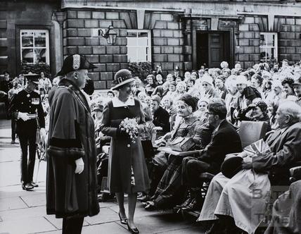 Queen Elizabeth II and Prince Phillip at Bath 1973