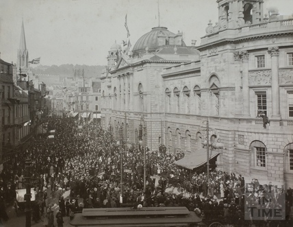 Duke of Connaught visiting Bath