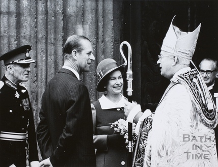 Queen Elizabeth II and Prince Phillip at Bath 1973