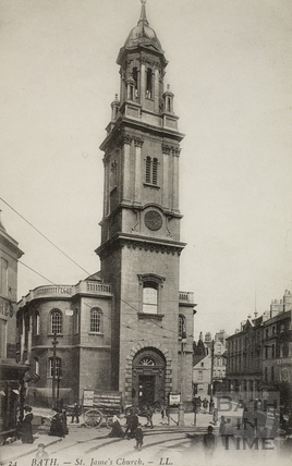 St. James's Church, Bath c.1905