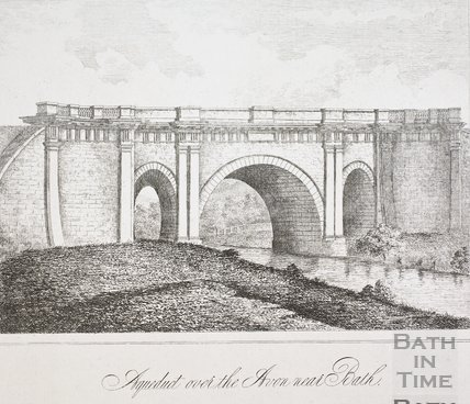 Aqueduct over the River Avon near Bath c.1810