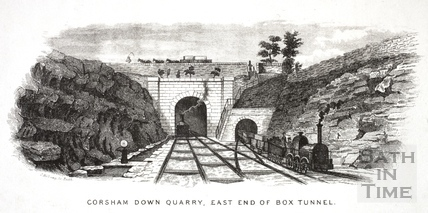 history the corsham tunnels Corsham railway cutting carries the main line westward through corsham to box tunnel in 1971 66 hectares (16 acres) corsham railway station history - on the internet archive, from a campaign to open a new station ceremonial county of wiltshire.