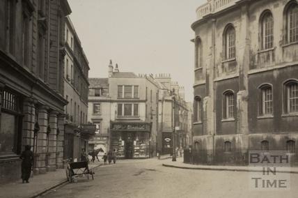 New Orchard Street, Bath c.1920 - detail