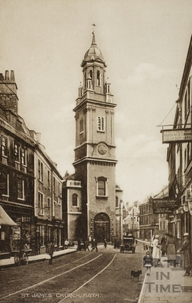 St. James's Church, Bath c.1920